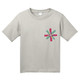 Youth Light Grey Know Your Glow Crew Neck  T-shirt