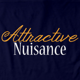 ATTRACTIVE NUISANCE Navy art preview