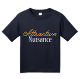Youth Navy Attractive Nuisance - Lawyer Humor Law School Funny Legal Joke T-shirt