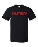 Unisex Black Beastmode - Body Building Strength Training Beast Gym Funny