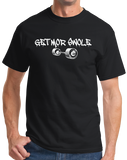 Standard Black Get Mor Swole - Weight lifting, Body Building Humor T-shirt