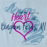 I Left my Heart in Bingham Farms, MI | Michigan Pride Ladies