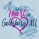 I Left my Heart in Galesburg, MI | Michigan Pride Ladies