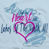 I Left my Heart in Lakes Of The North, MI | Michigan Pride Ladies