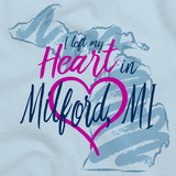 I Left my Heart in Milford, MI | Michigan Pride Ladies