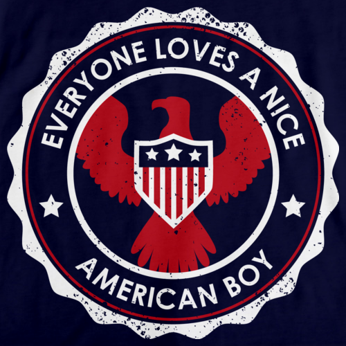 Everyone Loves a Nice American Boy | America Navy art preview