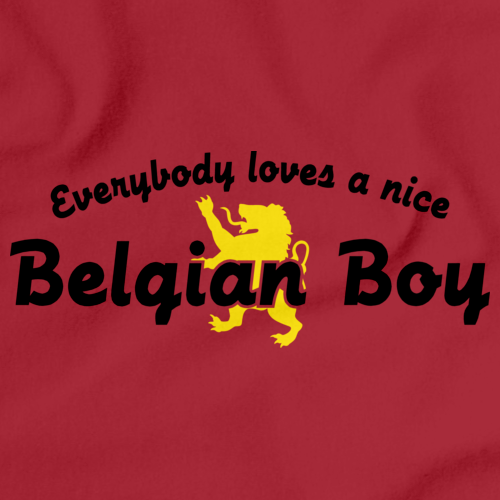 EVERYBODY LOVES A NICE BELGIAN BOY Red art preview