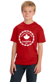 Youth Red Everyone Loves A Nice Canadian Girl - Canada Pride love Gift T-shirt