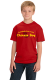 Youth Red Everybody Loves A Nice Chinese Boy - China Chinese Heritage Gift T-shirt