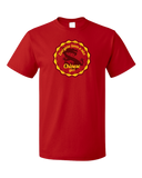 Standard Red Everyone Loves A Nice Chinese Girl - China Pride Heritage T-shirt