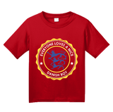 Youth Red Everyone Loves A Nice Danish Boy - Denmark Love Heritage Gift T-shirt