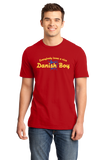 Standard Red Everyone Loves A Nice Danish Boy - Denmark Love Heritage Gift T-shirt