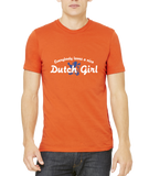 Standard Orange Everybody Loves A Nice Dutch Girl - Netherlands Nederland Pride T-shirt