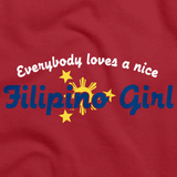 Everyone Loves a Nice Filipino Girl | Phillipines Red art preview