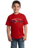 Youth Red Everyone Loves A Nice Filipino Girl - Phillipines Heritage Pride T-shirt