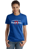 Ladies Royal Everybody Loves A Nice French Boy - France Heritage Love Pride T-shirt