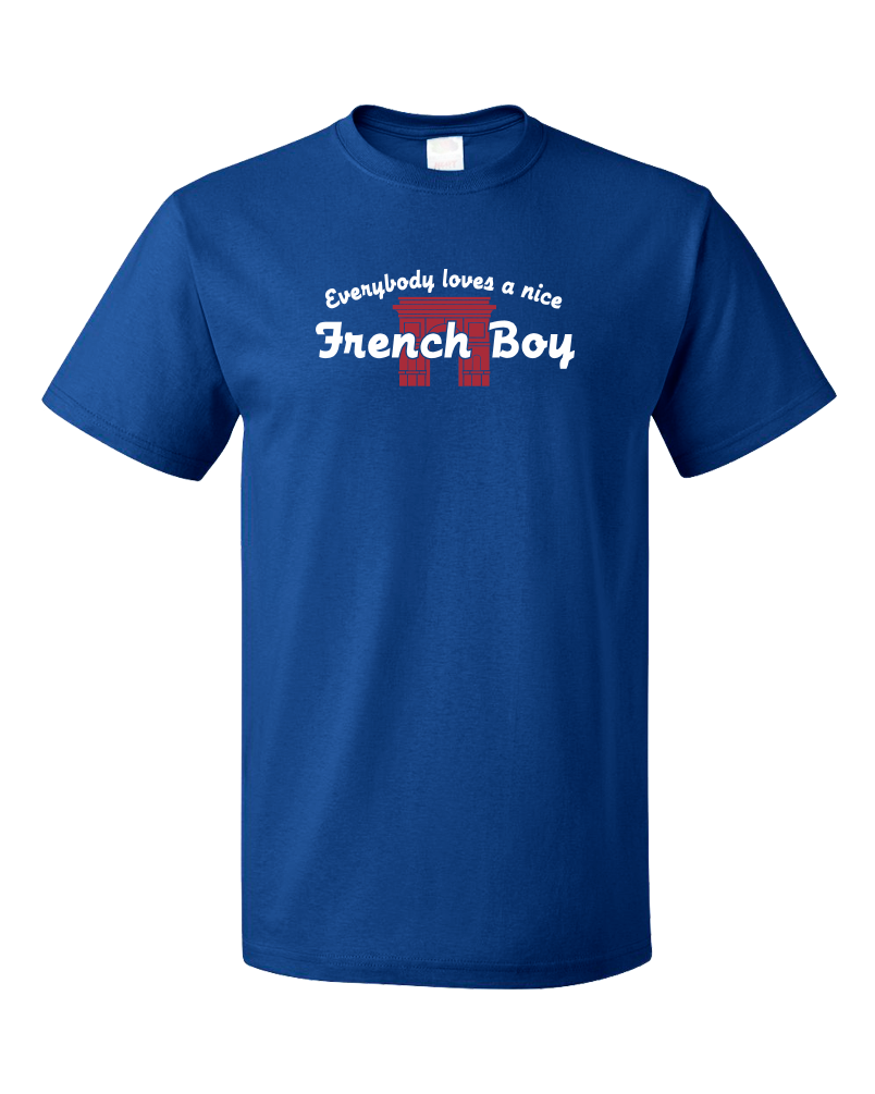 Standard Royal Everybody Loves A Nice French Boy - France Heritage Love Pride T-shirt