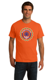 Standard Orange Everyone Loves A Nice Indian Girl - India Pride Heritage Gift T-shirt