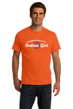 Standard Orange Everybody Loves A Nice Indian Girl -India Pride Heritage Gift T-shirt