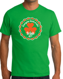 Standard Green Everyone Loves A Nice Irish Girl - Ireland Eire Pride Love Gift T-shirt