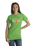 Standard Green Everybody Loves A Nice Irish Girl - Ireland Eire Pride Love Gift T-shirt