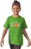 Youth Green Everybody Loves A Nice Irish Girl - Ireland Eire Pride Love Gift T-shirt