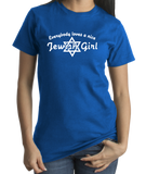 Standard Royal Everybody Loves A Nice Jewish Girl - Israeli Jewish Bat Mitzvah T-shirt