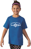 Youth Royal Everybody Loves A Nice Jewish Girl - Israeli Jewish Bat Mitzvah T-shirt