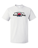 Standard White Everyone Loves A Nice Korean Boy - Korea Pride Ancestry Gift Fun T-shirt