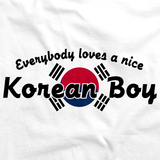 Everyone Loves a Nice Korean Boy | Korea White art preview