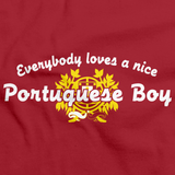 Everyone Loves a Nice Portuguese Boy | Portugal Red art preview