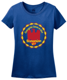Ladies Royal Everyone Loves A Nice Romanian Girl - Romania România Heritage T-shirt
