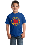 Youth Royal Everyone Loves A Nice Romanian Girl - Romania România Heritage T-shirt