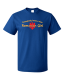 Standard Royal Everybody Loves A Nice Romanian Girl - Romania România Heritage T-shirt