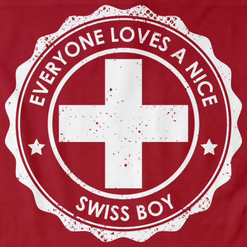 Everyone Loves A Nice Swiss Boy | Switzerland Red Art Preview