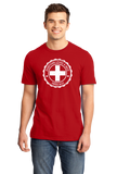Standard Red Everyone Loves A Nice Swiss Boy - Switzerland Pride Heritage T-shirt