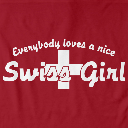 Everyone Loves a Nice Swiss Girl | Switzerland Red art preview