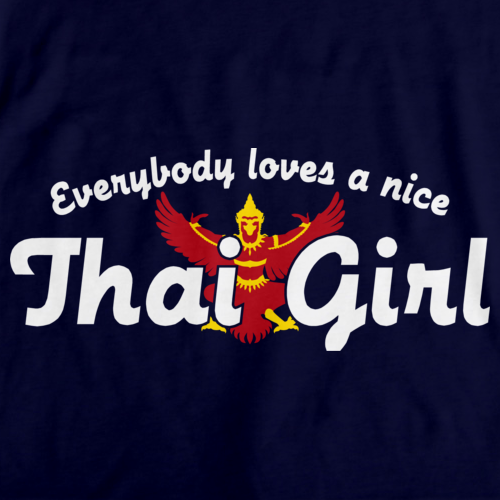 Everyone Loves a Nice Thai Girl | Thailand Navy art preview