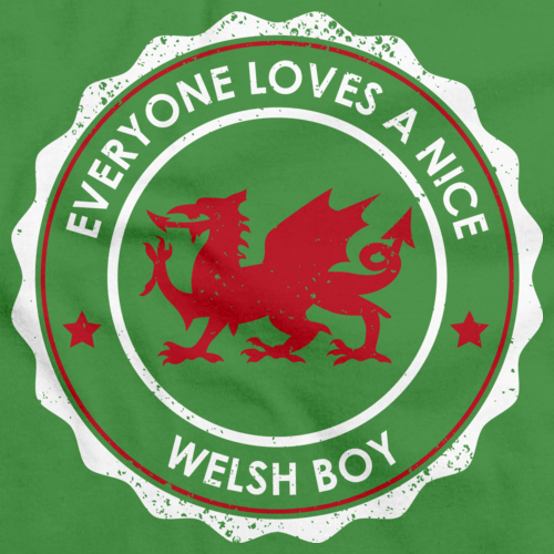 Everyone Loves a Nice Welsh Boy | Wales Green art preview