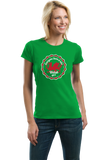 Ladies Green Everyone Loves A Nice Welsh Girl - Wales Cymru Heritage Pride T-shirt