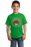 Youth Green Everyone Loves A Nice Welsh Girl - Wales Cymru Heritage Pride T-shirt