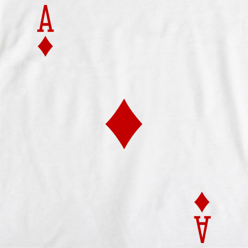 ACE OF DIAMONDS White art preview