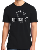 Standard Black Got Magic? - Magician Magic Wand Illusionist Humor Funny T-shirt