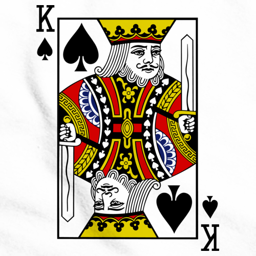 KING OF SPADES White art preview