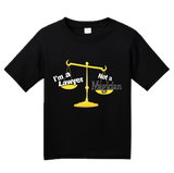 Youth Black I'm A Lawyer, Not A Magician - Lawyer Humor Legal Joke Sarcastic T-shirt