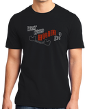 Standard Black What Would Houdini Do? - Magician Humor Absurd Funny T-shirt
