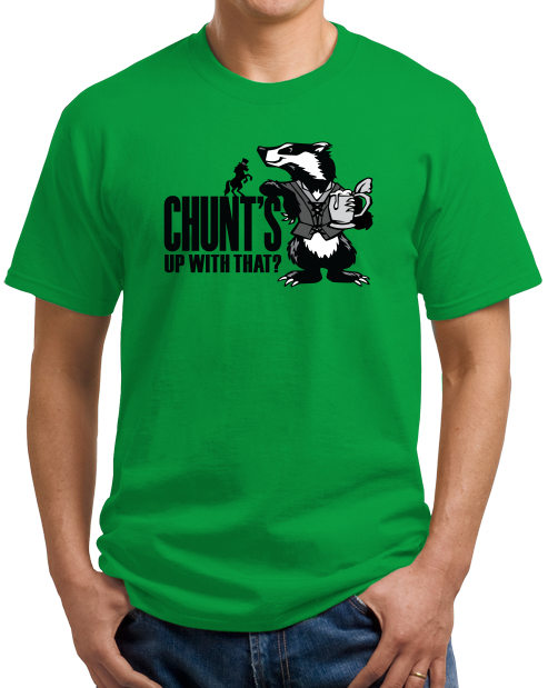 Unisex Green Magic Tavern Chunt's Up With That T-shirt