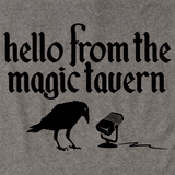 Magic Tavern Logo Grey Art Preview