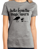 Ladies Grey Magic Tavern Logo T-shirt