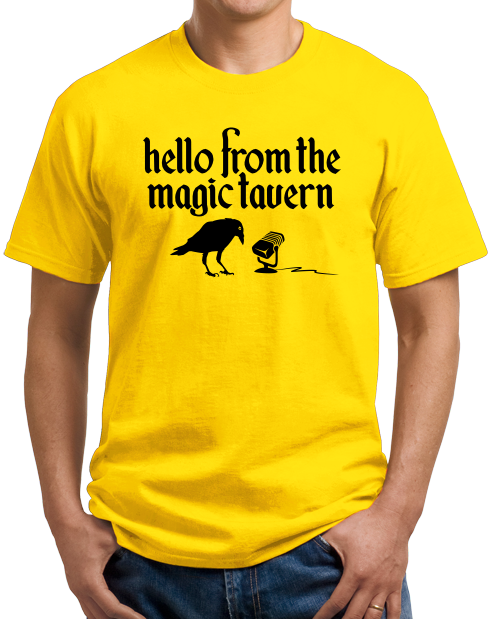 Unisex Yellow Magic Tavern Logo T-shirt